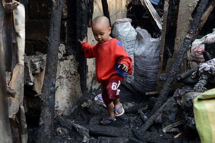 Brandkatastrophe in Manila