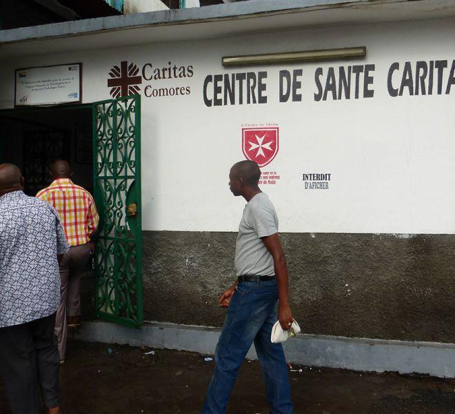 Komoren-Krankenhausbesuch