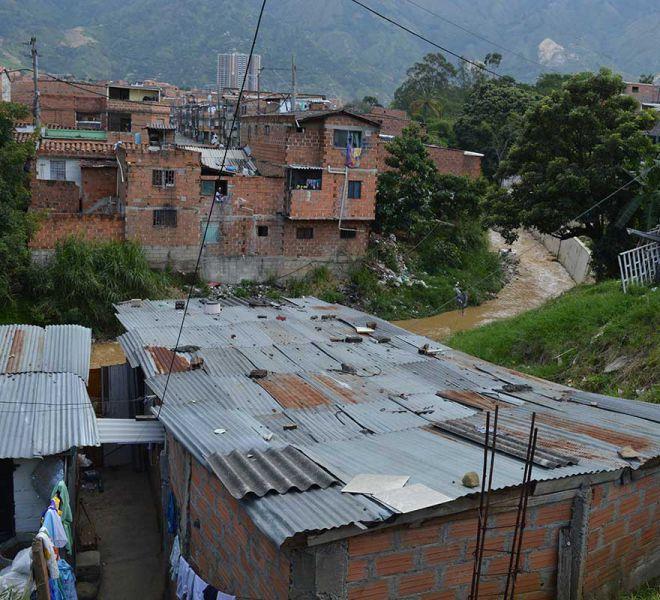 Slum-von-Medellin