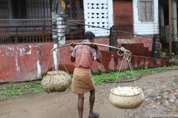 Armut und harte Arbeit in Indien