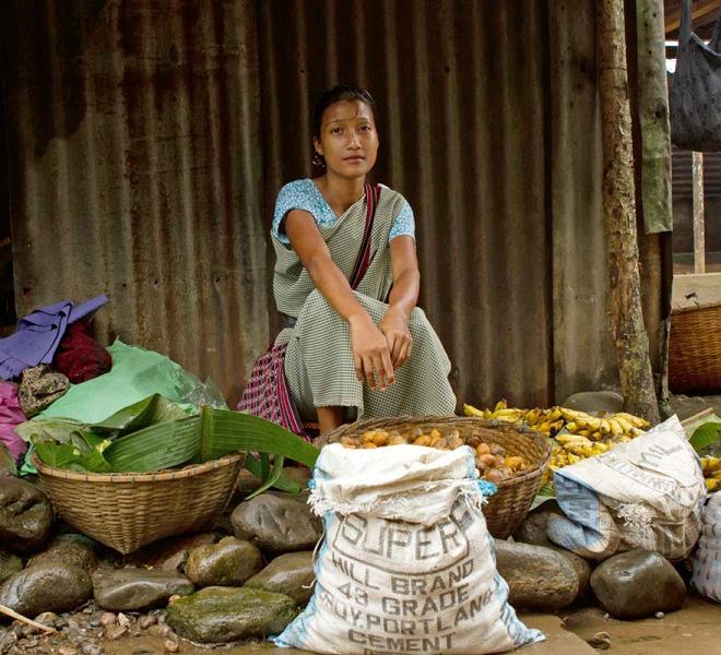 Lokale Maerkte in Indien