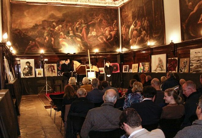 Kunstauktion der Salvatorianer in Wien